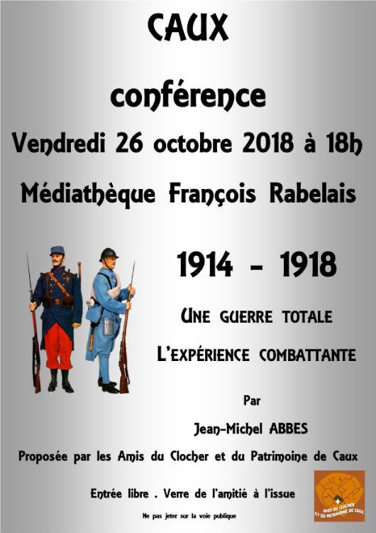 Caux conférence 1914-1918 grande guerre
