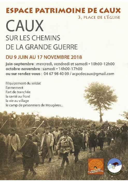 Espace patrimoine, musée, guerre 18-18, Caux