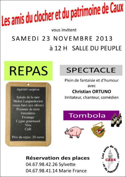 repas 23-11-2013