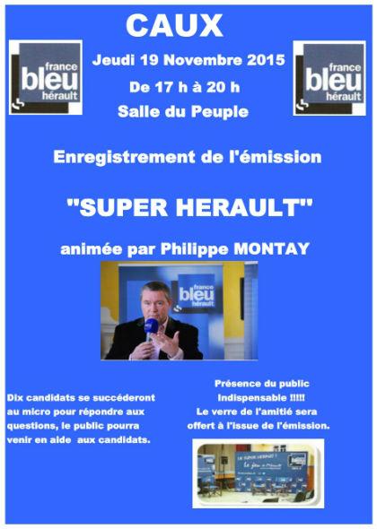 caux - france bleu herault - super hérault