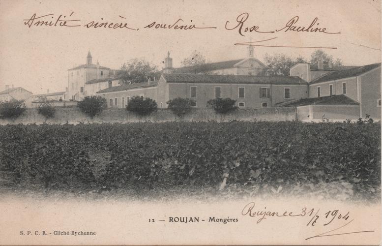 carte postale Mougères - Caux