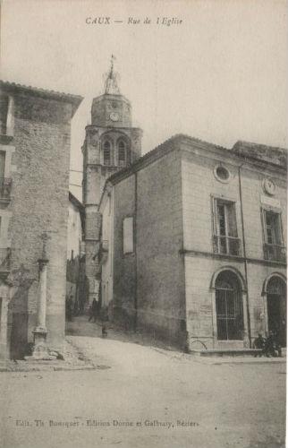 Caux rue église