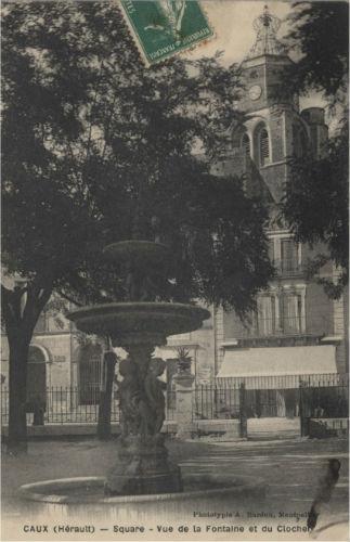 carte postale caux square clocher