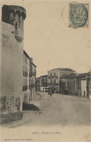 carte postale caux la tour
